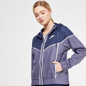 Nike Blue + Purple Windrunner Jacket